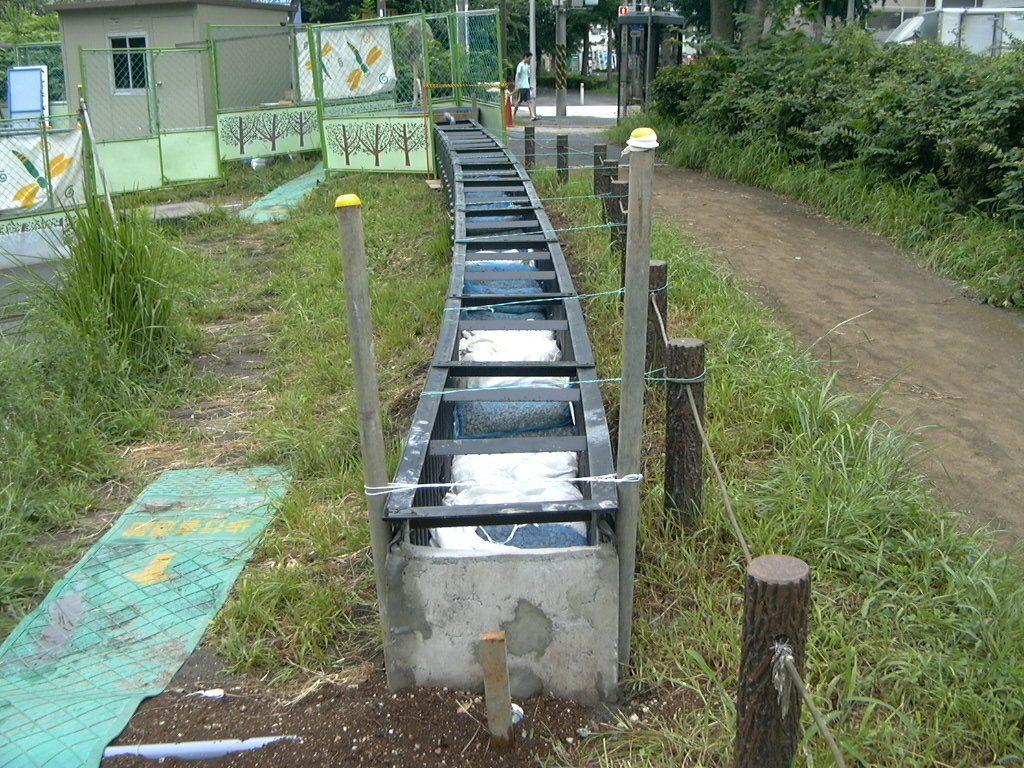 水槽浄化パックの基本となる生物濾過支援型ろ過材